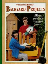 Birds and Blooms Books: Birds and Blooms Backyard Projects (1999, Hardcover)