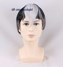 Shiro Gray gradient Cosplay Costume Wigs + a wig cap
