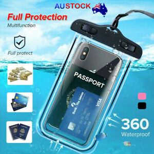 Universal Waterproof Case Bag IPX8 For Phone Pouch Case Dry Bag Luminous Summer