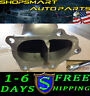 "TSUDO SUBARU WRX/STI 2008-2012 3"" CATLESS RACE IRON CAST FLANGE DIVORCE DOWNPIPE"