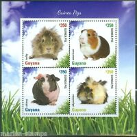 GUYANA    2014 GUINEA PIGS  SHEET II  MINT NH