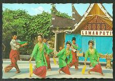 Minangkabau Handkerchief Dance Costume Sumatra Indonesia stamps