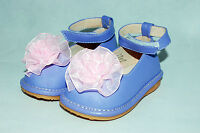 Baby girls toddler Tiny Squeaky Lilac purple first shoes 3 4 5 6 occasion