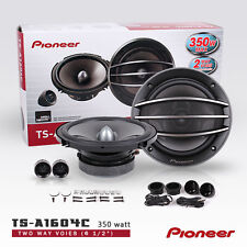 "2X / 2 Pairs New Pioneer TS-A1604C 6.5"" 350W Seperates Component car speakers"