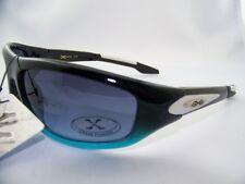 Xloop Sunglasses,Sport,Shades,Ride,Plastic Frame,Black/Blue/Gray,Item# 228 F