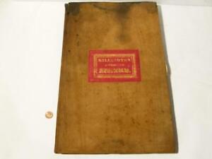 1811 KILLINGTON ENCLOSURE AWARD Manuscript Book Kirkby Londsale ARCHIVE