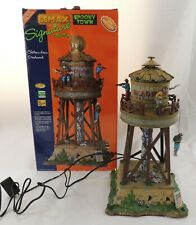 Lemax Spooky Town Deadwood Water Tower #84765 Lighted & Animated Western