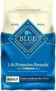 Blue Buffalo Life Protection Formula Adult Dog 6lb Natural Dry Food - Chicken &