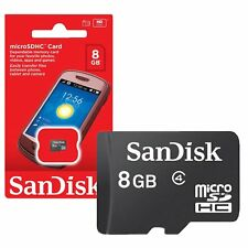 SanDisk 8GB 8G MicroSD Micro SD SDHC HC Memory Card TF Flash Class 4
