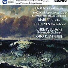 Christa Ludwig - Brahms: Alt-Rhapsodie/Wagner: Wesendonck-Lieder/Mahler (NEW CD)