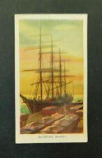 c1940 Hoadleys Trade Card Birth of a Nation #23 Shipping Wheat Australiana