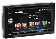 SOUNDSTORM Double DIN Bluetooth DVD/CD/AM/FM Touchscreen Car Stereo | DD661B