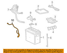 TOYOTA OEM 2003 Matrix Battery-Negative Cable 8212301040