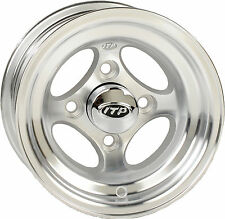 ITP 1025831403 C-Series G4 Golf Cart Wheel 10x7 Offset 3+4 4 4 Polished 37-3693