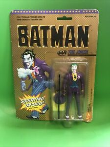 BATMAN JOKER DC TOY BIZ Action Figure BRAND NEW & SEALED Squirting Orchid 1989