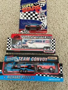 RICHARD PETTY Lot 3 1992 Team Convoy Fan App. Tour &1/64 car
