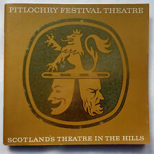 PITLOCHRY FESTIVAL THEATRE 21 SCOTLAND,1951-1971 PROGRAMME.HISTORY,PLAYS,PHOTOS