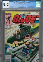 Marvel GI JOE 25 CGC 9.2 Canadian Newsstand Variant CPV .75 1st Zartan Dreadnoks
