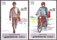 Korea - SC 1335-36 Old and New Mailman 2v 1984