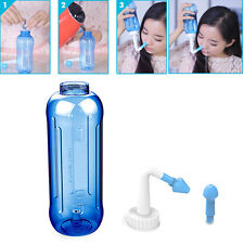 500ML Adults Children Wash Nose System Clean Sinus  Nasal Pressure Neti Pot New