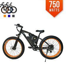 750 Watts Fat  Tire 48v 26' Kenda SAMSUNG Mountain Electric E Bike Bicycle