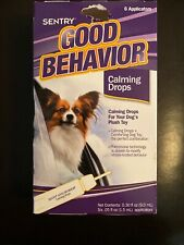 Sentry Good Behavior Calming Drops for Dogs 6 count