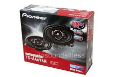 "Pioneer TS-A4676R 200 Watts 4"" x 6"" 3-Way Coaxial Car Audio Speakers 4""x6"" New"