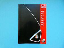 Prospekt / Katalog / Brochure Alfa Romeo 33 Imola  01/94