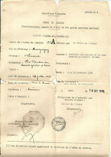 Laon (02) 4 Documents intéressants 1939-40. Voir photos.