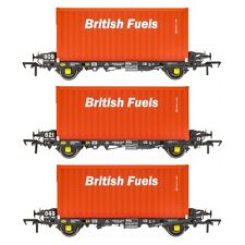 Accurascale ACC2068BFLH PFA - British Fuels Coal Container H - 3 Pack OO