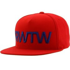 $35 Roll With The Winner RWTW The Flag Snapback Cap red navy