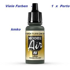 Vallejo Model Air MA 019 71019 Cam.Dark Green FS34083-RAL6007 17ml 14,71€/100ml