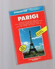 guida de agostini baedeker - parigi - altra edizione 1991