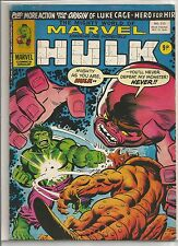 Mighty World of Marvel / Incredible Hulk : comic book #213 from October 1976