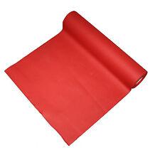 Linen feel airaid paper tablerunner ROLL- 40cm x 24m - Red