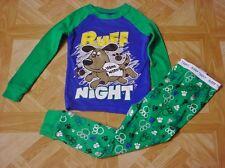 NEW NWT Toddler Boys Garanimals Monkey Wave Rider Pajama Set SZ24M,3T