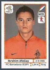 PANINI EURO 2012- #184-NEDERLAND-HOLLAND-BARCELONA-IBRAHIM AFELLAY