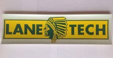 Lane Tech High School (Chicago) Vintage Decal/Bumper Sticker Circa 1970's