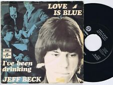 Jeff Beck Love Is Blue b/w I've Been Drinking Danish 45Ps 1968.