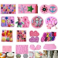 DIY Silicone Fondant Mold Cake Decorating Chocolate Sugarcraft Baking Mould Tool