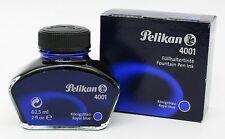 5 Stück Pelikan Tinte 4001 königsblau Tintenfass mit 62,5 ml