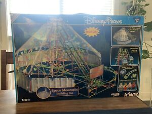 WOW!!! Knex Disney Parks Space Mountain Glow-in-the-Dark Building Set $200 MSRP