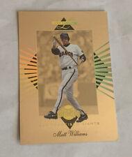 1994 Leaf Limited Gold All Stars Matt Williams 4351/10000 Giants