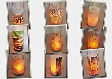 Windlicht Lichthülle Teelichter Folie Teelichthalter Deko Kerzenständer Kerze