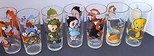 PEPSI Collection Glasses 1973 1975 1976 1978 Warner Bros Looney Tunes Elmer Fudd