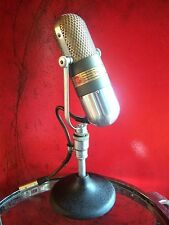 Vintage 1950's RCA 77DX ribbon microphone pill old Elvis Johnny Carson