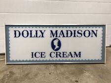 Vintage Dolly Madison Ice Cream Light Up Sign Advertising In Original Box NOS