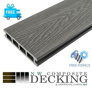 🔥SALE🔥NW COMPOSITE DECKING BOARDS-3.66M INCLUDING FIXINGS, FREE DELIVERY