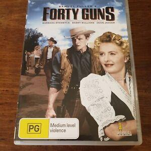 Forty Guns DVD R4 Like New! FREE POST