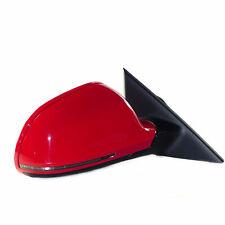 Audi A5 8T (08-11) Espejo Exterior Espejo Derecho LY3J Rojo Eléctrico Ajustable